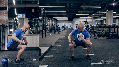 How to do an Air Squat with Bobby Maximus