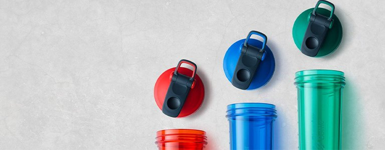 ProSeries Odor-Resistant shaker cups make cleaning your shaker easier.