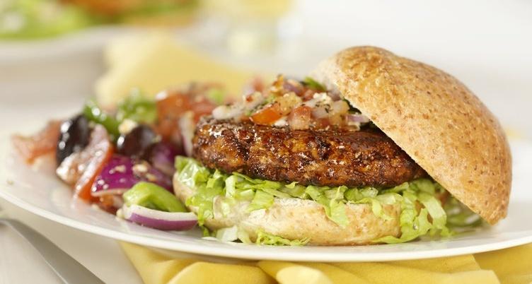 extra juicy turkey burger