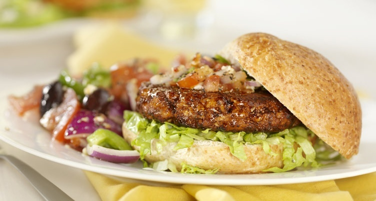 extra juicy turkey burger