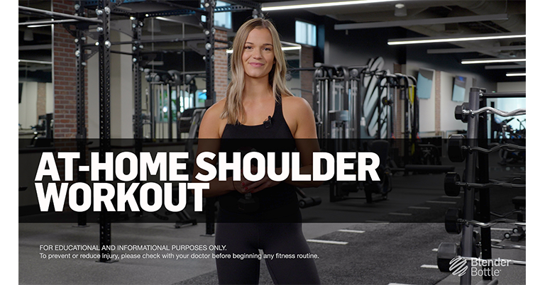 Home Shoulder Workout with Kendall