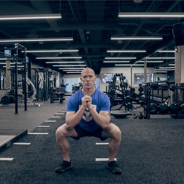 BlenderBottle Trainer Team How to Do an Air Squat With Bobby Maximus
