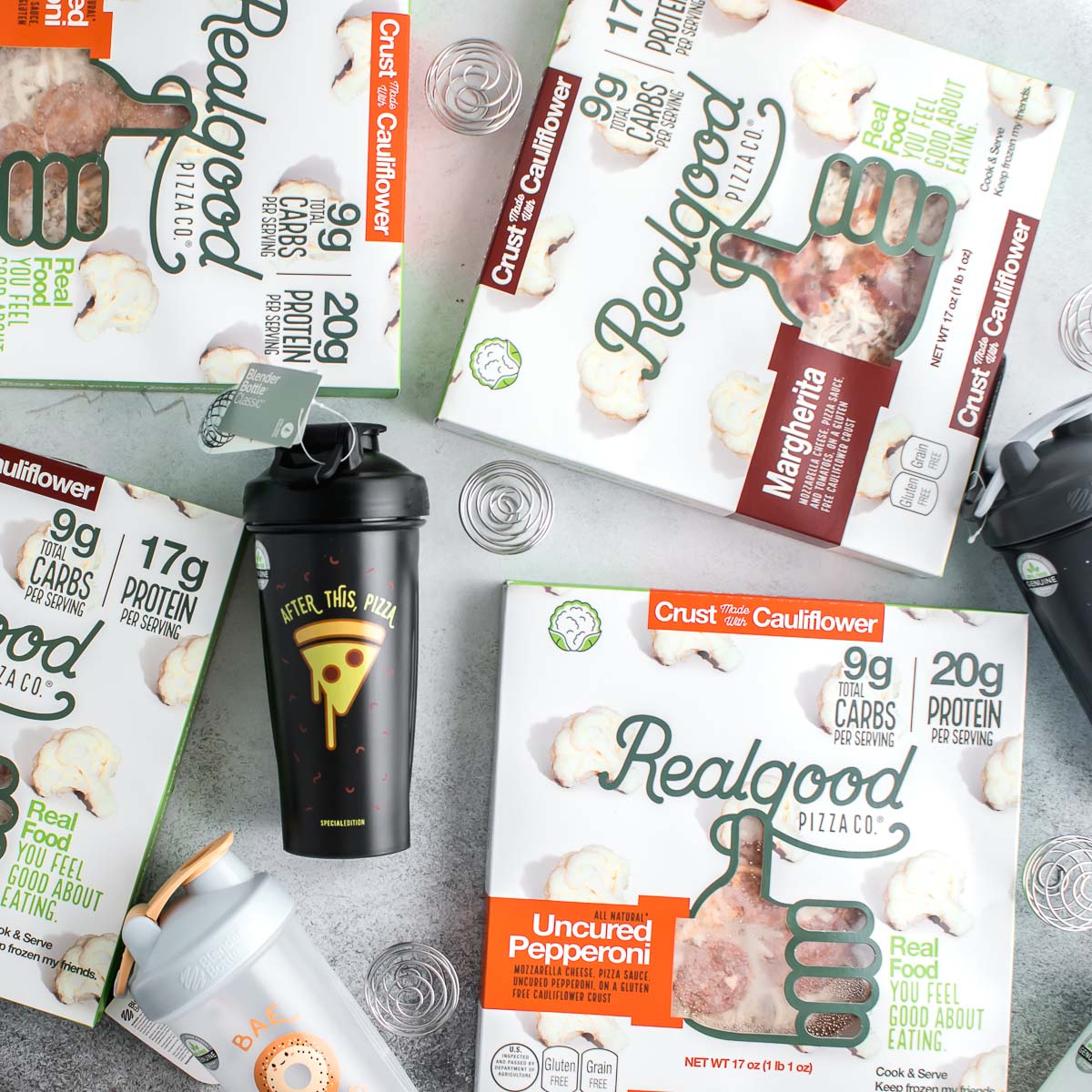 BlenderBottle Giveaway with Realgood Foods
