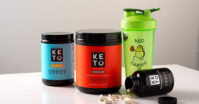Perfect Keto and BlenderBottle Giveaway