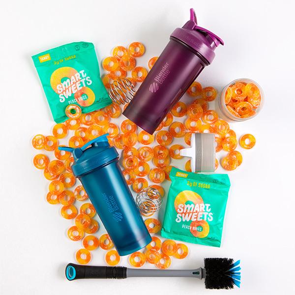 BlenderBottle and Smart Sweets Giveaway