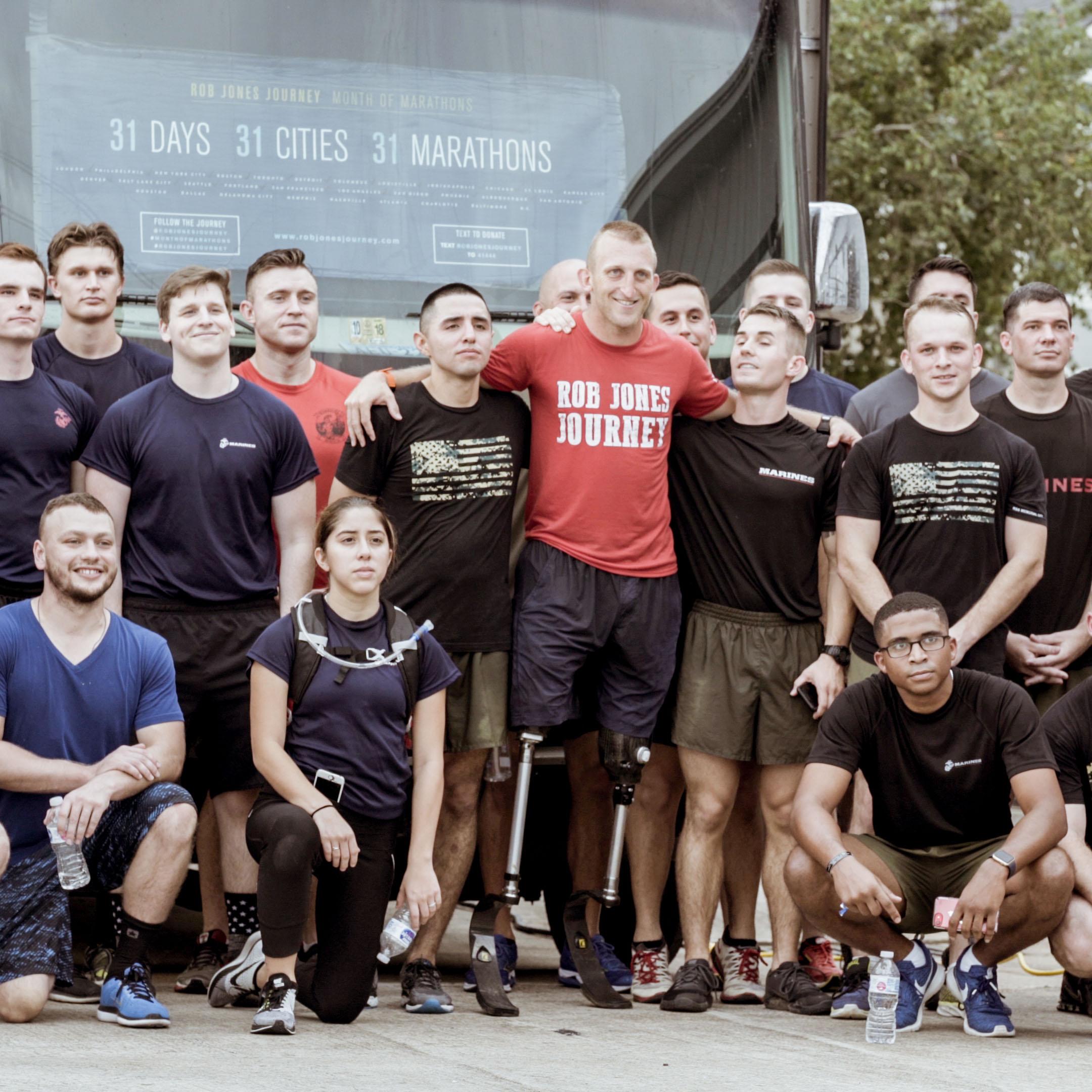 Rob Jones Journey:Houston Marathon